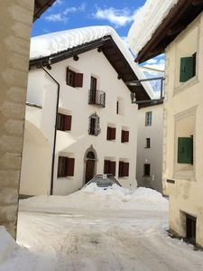 Photo for Holiday apartment Bever for 4 persons with 2 bedrooms - Historical building