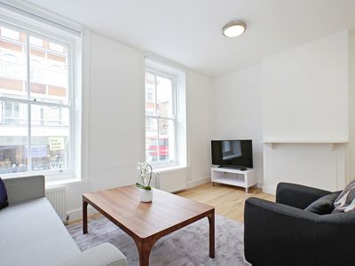 Photo for 2BR FLAT IN THE SOHO - BLOOMSBURY AREA  - MINUTES FROM THE BRITISH MUSEUM!