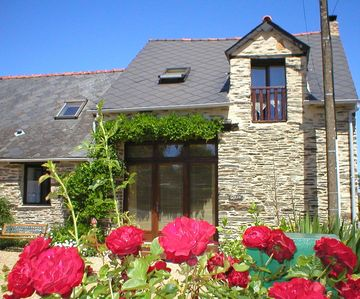 Photo for Wisteria Barn, South Brittany cottage, free bikes, WiFi, near village