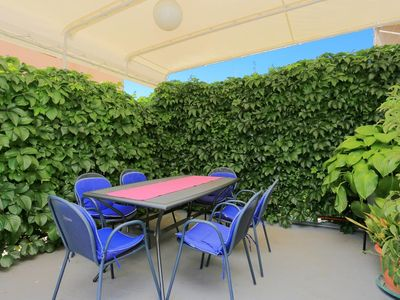 Photo for Two bedroom apartment with terrace Makarska (A-2630-a)