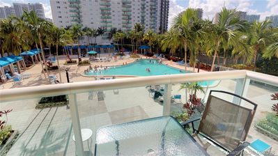 Photo for Sunny Isles Condo Resort (parking included!)