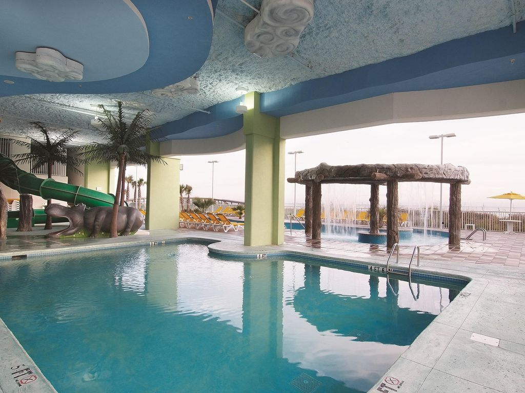 Myrtle Beach Sc 2 Bedroom Deluxe Boulevard View Lazy River Beach More Cherry Grove Beach