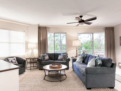 Photo for 3BR Beachfront Condo at Blue Lupine w/ Pool & Hot Tub