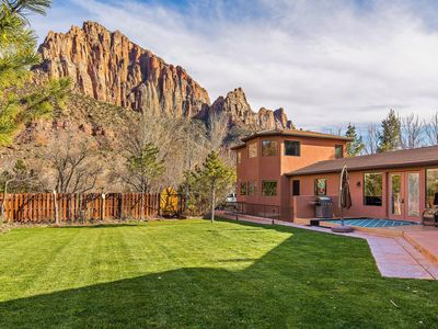 Photo for Large Family Home Just Steps Away From The Entrance To Zion
