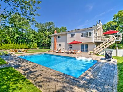 Photo for Modern Hampton Bays House w/Pool & Bay Rights!