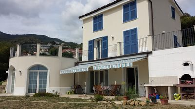 Photo for Paradise villa on the hills 3 km from the sea