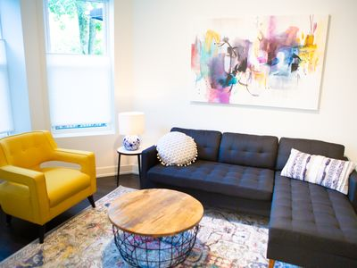 Photo for Urban Chic Oasis with Modern Furnishings