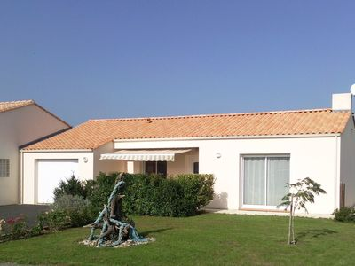 Photo for Spacious and modern house, classified 3 stars prefecture, near the sea, calm.