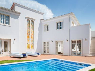 Photo for Mediterranean villa in Vabriga with private swimming pool and free access to Lanterna