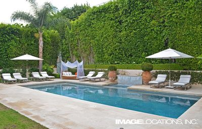 Photo for Sophisticated Beverly Hills Mediterranean Estate With Pool + Peaceful Waterfall