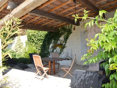 Photo for Furnished charm (4/5 p) in Provencal Mas in Cavaillon / Luberon