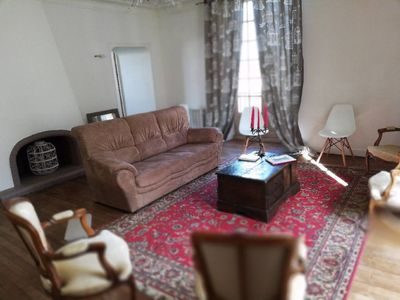 Photo for Large bright apartment - downtown Redon - 6 people