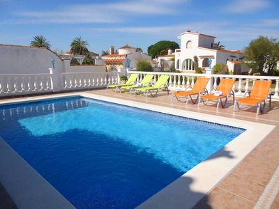 Photo for Apart-Rent-House with mooring and pool (0038)