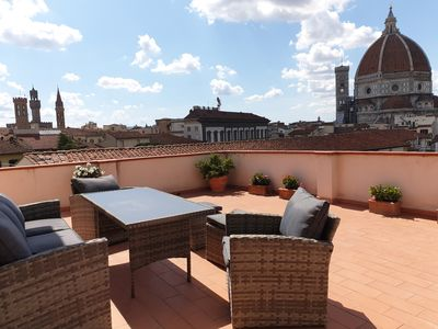 Photo for Monna Lisetta - PENTHOUSE WITH TERRACE - Historic Center