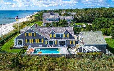 Photo for Seaside Charm in Osterville with heated pool and private beach.