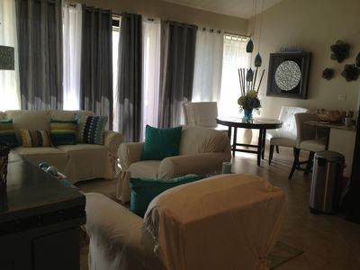 Photo for Luxurious condo with 2nd floor ocean & whale watching view, wifi, cable TV, DVD