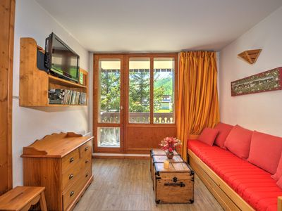 Photo for Apartment on the slopes, ski-in ski-out, shops 5 min walk