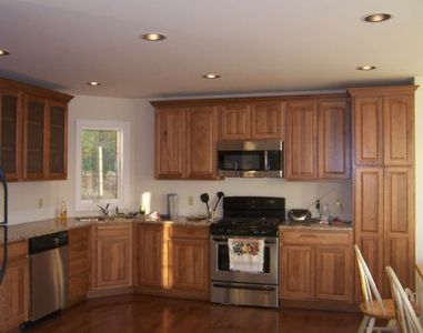 Kitchen --fully equiped with granite tops