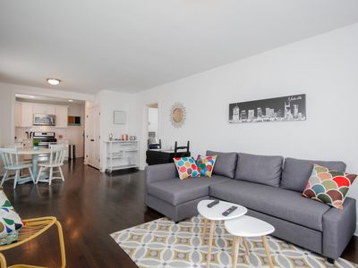 Photo for Updated View Home – Walk to Restaurants and Bars; 10 Mins to Downtown