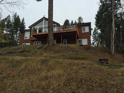 Photo for Lovely Hillside Vista Lake Front Property On SW Shore Of Beautiful Lac La Hache