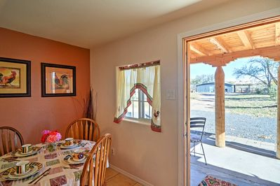 You'll feel right at home inside this cozy casita.