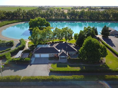 Photo for PRIVATE ski lake, vineyards, groups and families