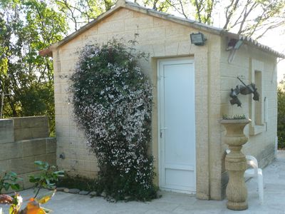 Photo for House with terrace, garden and swimming pool and the river 10 minutes walk ...
