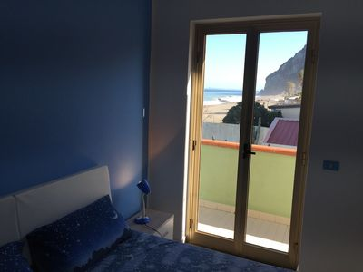 Photo for Apartment Xenia is located on the beach of Grotte Beach