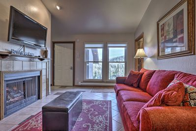 This vacation rental comfortably accommodates groups of 8!