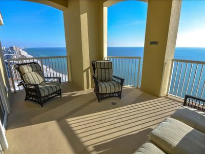 Penthouse corner unit. 4 bedrooms with THREE separate Balconies! Amazing