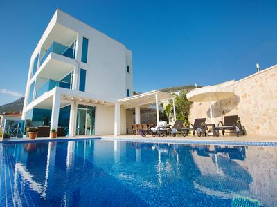 Photo for Luxury Mediterranean Villa In Kalkan, With Private Pool And Panoramic Sea Views