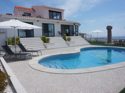 Photo for AMAZING VILLA FOR 12 PERS., A/C , WIFI, PRIVATE POOL, SUNLOUNGERS, BBQ,  SAT. TV