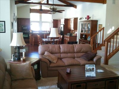 Photo for Beautiful Chalet with Big Screen TV, WIFI, and Gourmet Kitchen!