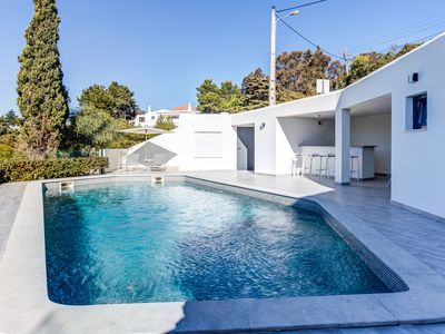 Photo for Stunning villa with exceptional sea views and modern design