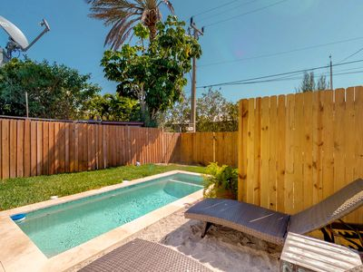 Photo for NEW LISTING! Quiet pet friendly home w/ great island location and pool.