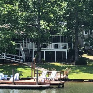 Photo for Lake Martin Waterfront Cabin - Perfect getaway for an Auburn Football game!