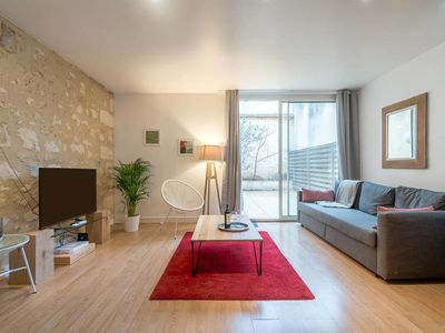 Photo for Nice apartment with terrace and parking