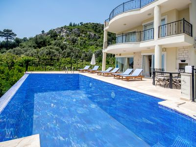 Photo for Luxurious Spacious 4 Bedroom Villa with Large Secluded Pool, Games Room & Views