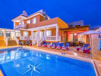 Photo for Spacious Private Villa With Heated Pool. 10 Minutes Walk From Beach.