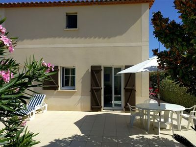 Photo for 4 room house with pool in Narbonne-Plage