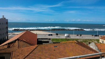 Photo for Beach house Porto is a comfortable duplex 50 steps from the lovely wh from the