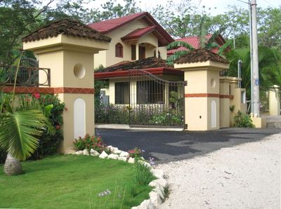 Entrance to Villa del Sol - Gated Community