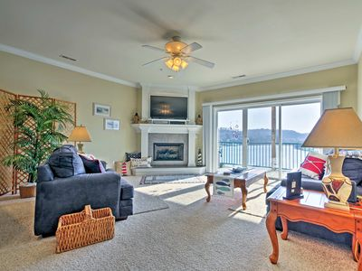 Photo for Condo on Lake of the Ozarks w/ Boat Slip & Pool!
