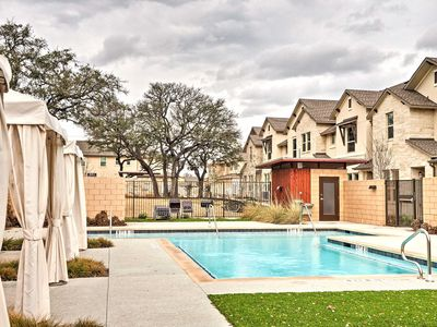 Photo for Upscale & Modern Austin Townhome w/ Pool Access!