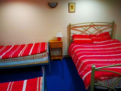 Photo for Triple Deluxe Family Room with sharing facilities - Alba Self Catering