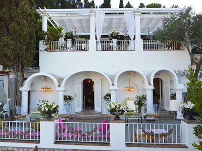Photo for CAPRI Island: Villa Luminosa & terrace -just 8 minutes walk from main Piazzetta