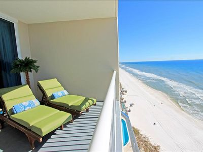 Photo for Palazzo 806-2BR+Bunks☀Gulf Front! & HUGE Balcony☀OPEN May 4 to 6 $659! Fun Pass!