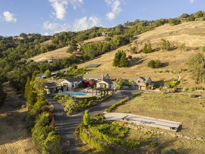 Photo for Magnificent Luxury Sonoma Compound Perfect for Multi-generational Summer Retreat