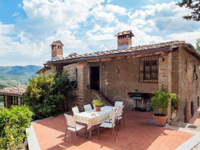 Photo for Apartment Villa Fabbroni  in Greve/San Polo in Chianti, Florence and surroundings - 8 persons, 4 bedrooms