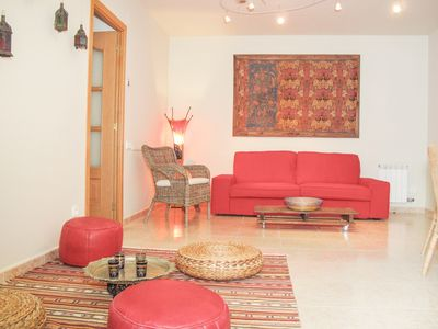 Photo for ETNIC Ground floor with refreshing private patio in Sitges.